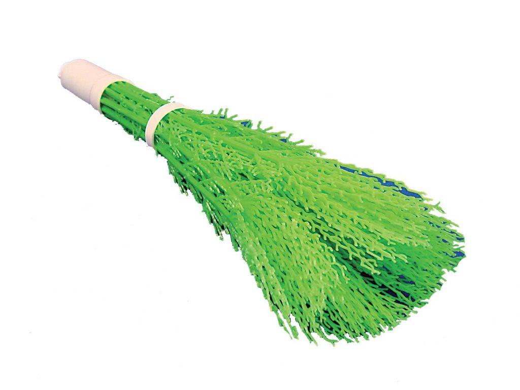 Balai voirie vert