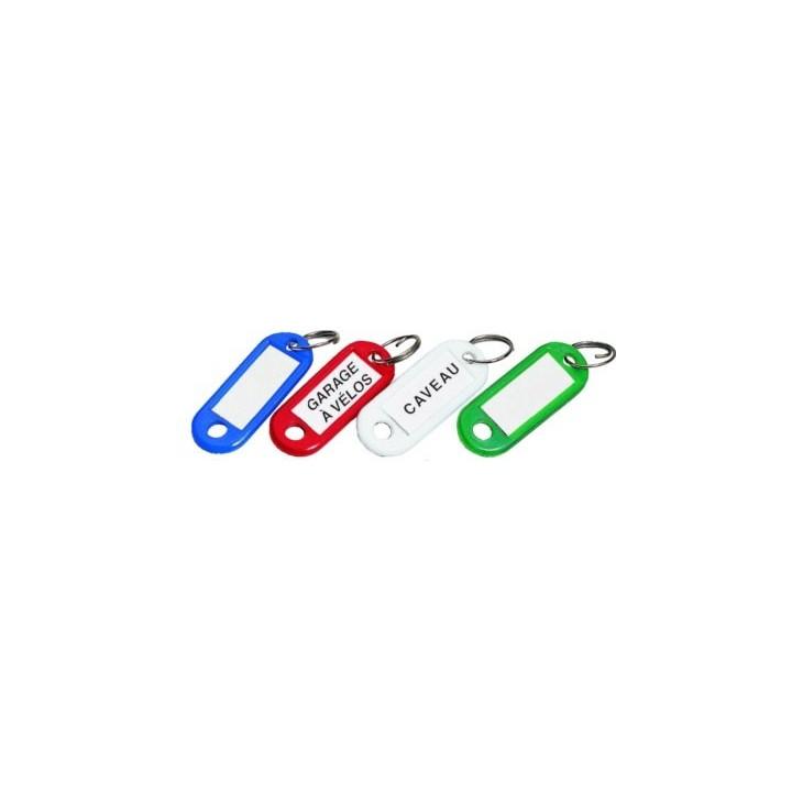 Porte clés étiquettes