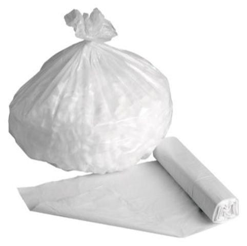 Sacs poubelles blancs*