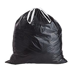 Sacs poubelles - liens coulissants*